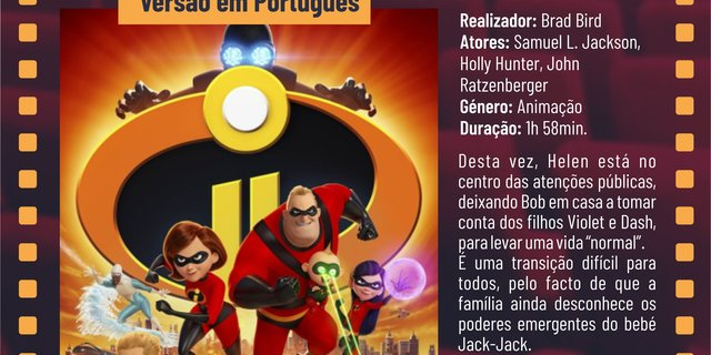 Cartaz filme the incredibles 2 os super her is 18 1 640 320