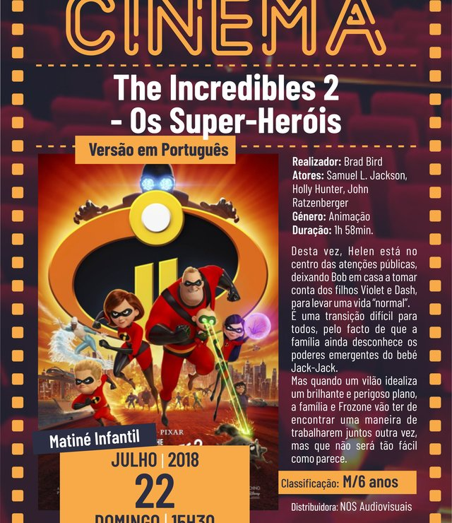 Cartaz filme the incredibles 2 os super her is 18 1 640 740