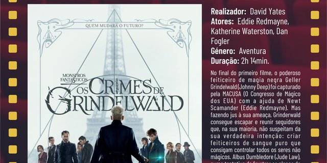 Cartaz filme monstros fant sticos os crimes de grindelwald 18 1 640 320