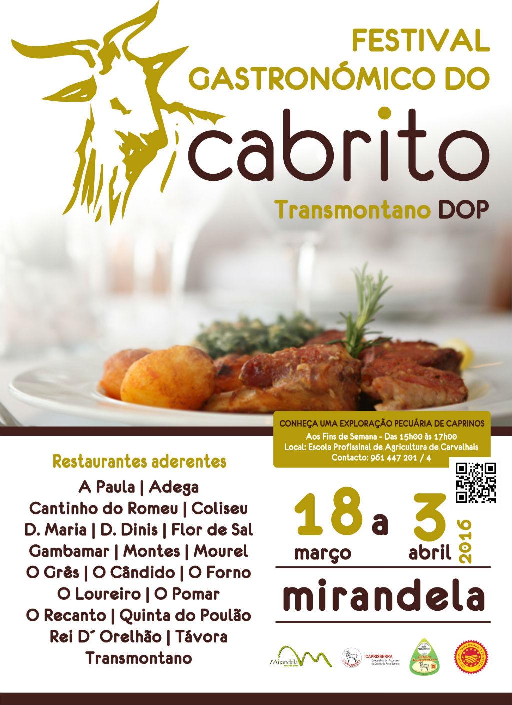 Mirandela Turismo / Festival Gastronómico do Cabrito